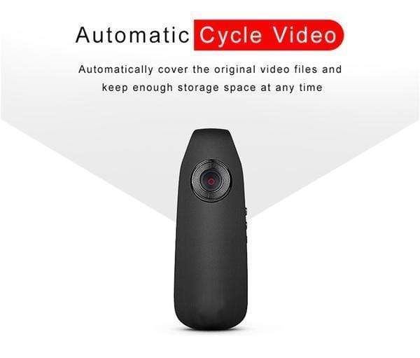 1080P HD Clip-On Camera