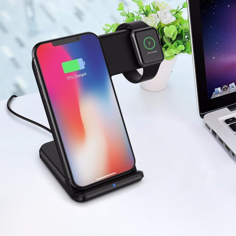 2 in 1 Wireless Charger Pad
