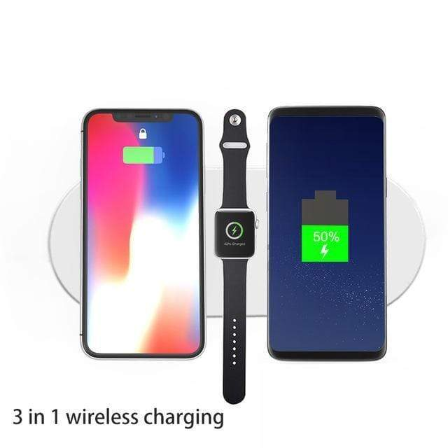 3-in-1 Smart Wireless Charger