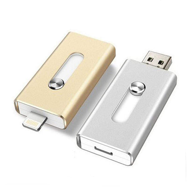 3-in-1 Smartphone Flash Drive (iPhone & Android)