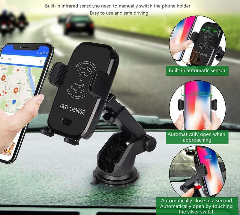 Automatic Sensor Wireless Car Charger