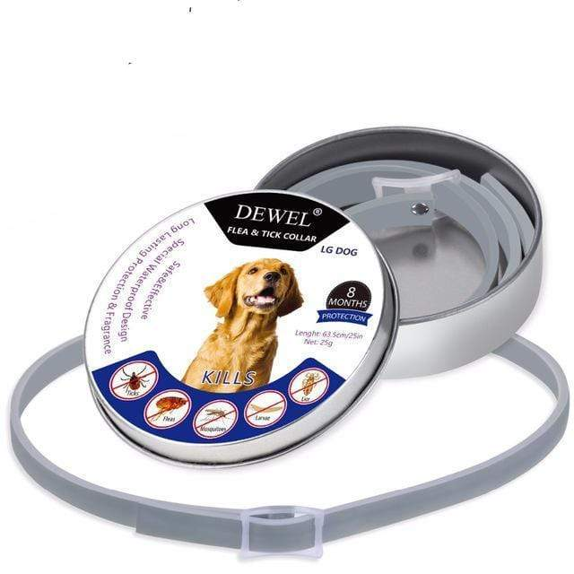 Dewel Flea And Tick Collar For Dogs