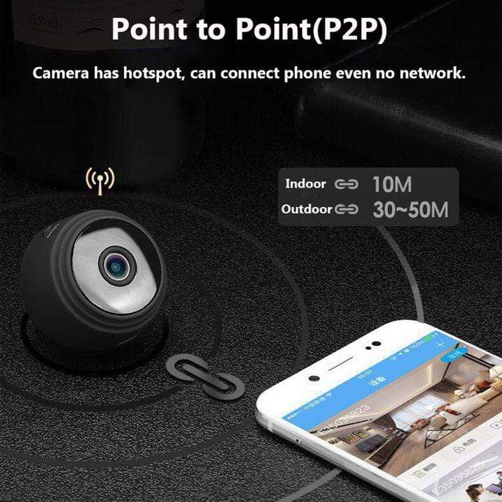 DigiEye™ 1080P FULL HD NIGHT VISION WIRELESS IP CAMERA