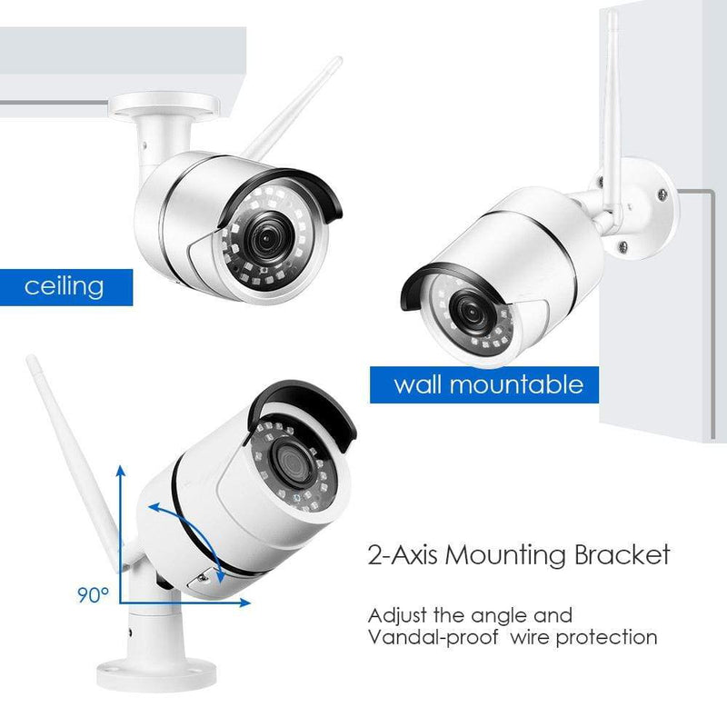 DigiEye™ 1080P Ultra HD WiFi Security Surveillance Camera
