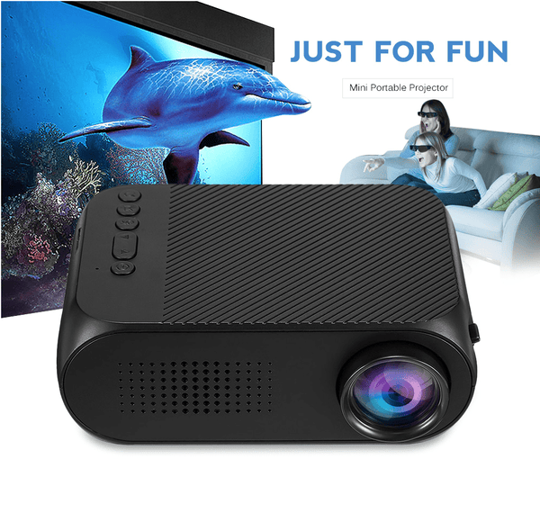 LED Mini Projector Home Theater