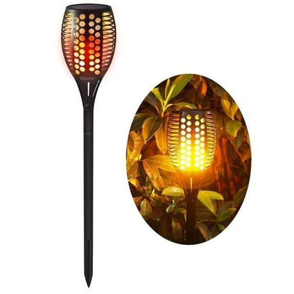 Outdoor Solar Torch Flame