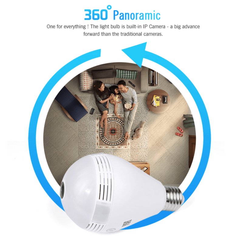 Panoramic Smart Home Camera