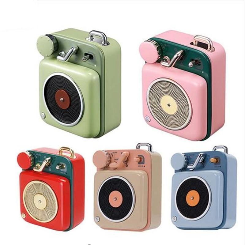 Portable Retro Bluetooth Speaker