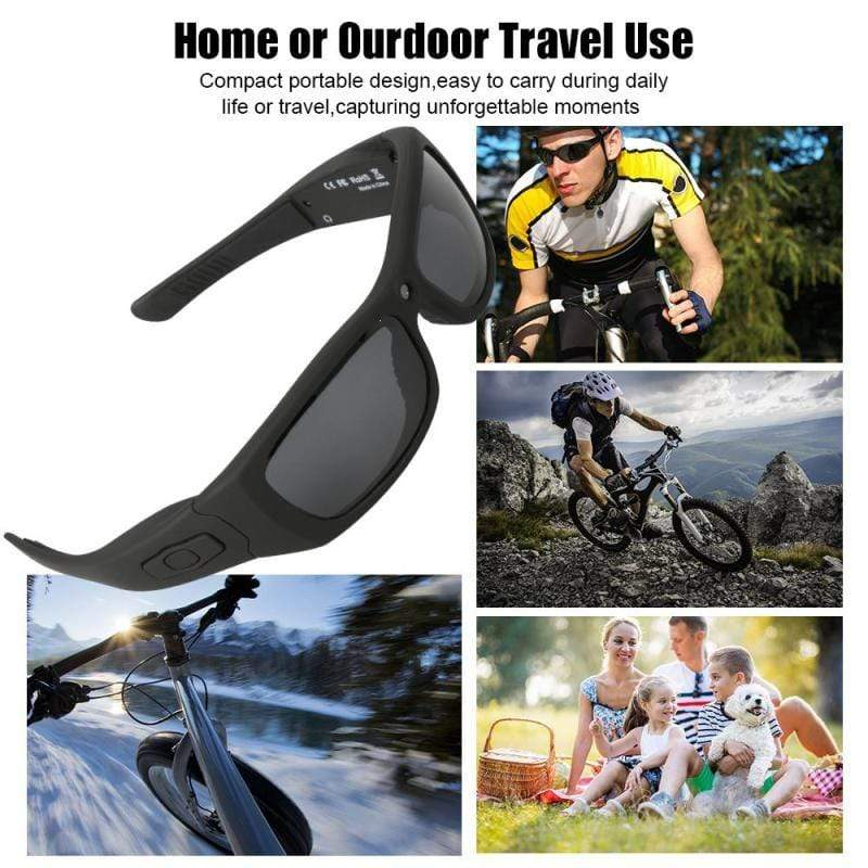 Smart Camera Glasses (with earphones)