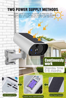 Solar and Weatherproof Security Camera
