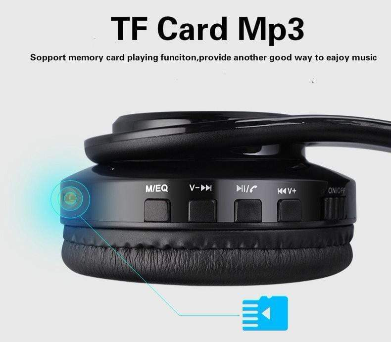 Stereo Bluetooth Headphone (Support TF Card)