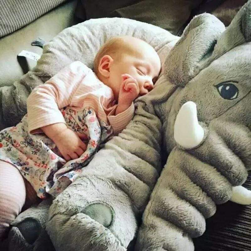The Giant Elephant Pillow