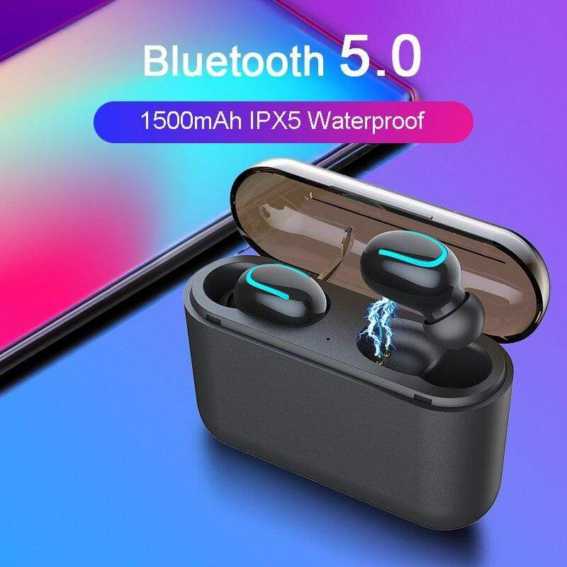 UltraBass™ True Wireless Earbuds With Powerbank