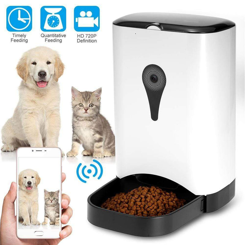 WiFi Camera Automatic Pet Feeder