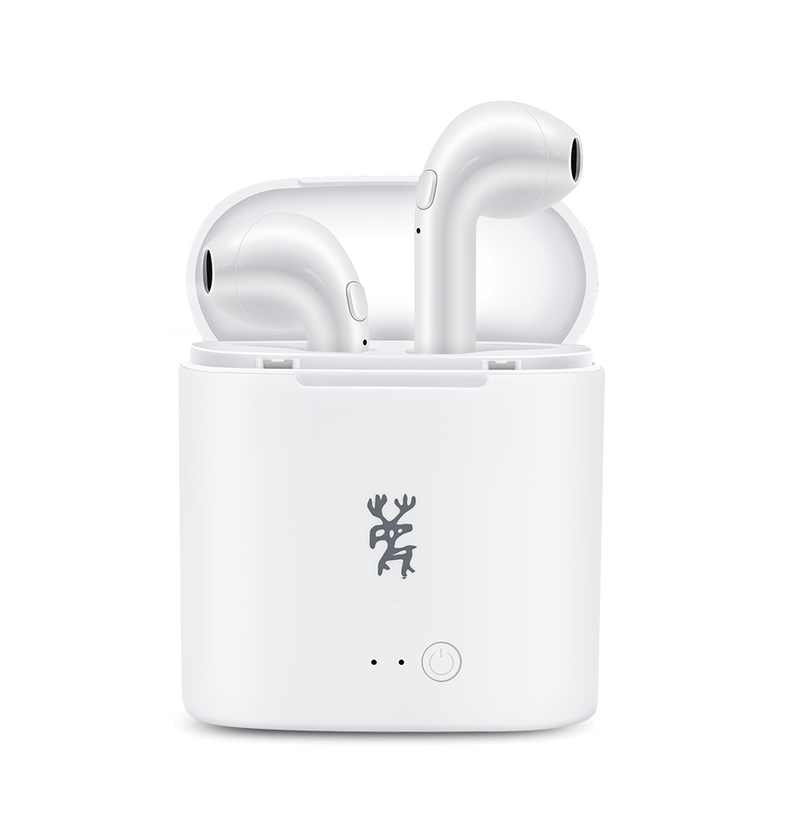 Wireless Bluetooth Earbuds (iPhone & Android)