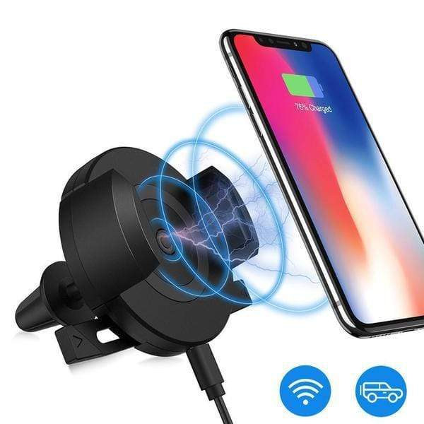 Wireless Charger 360° Phone Mount