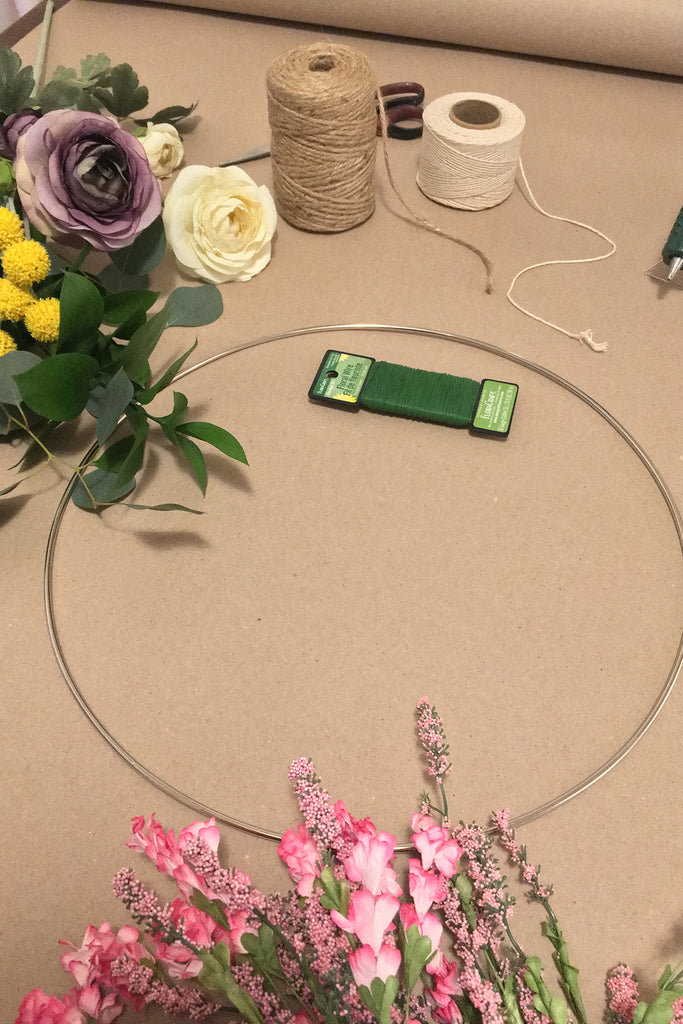 Hoop Wreath Workshop