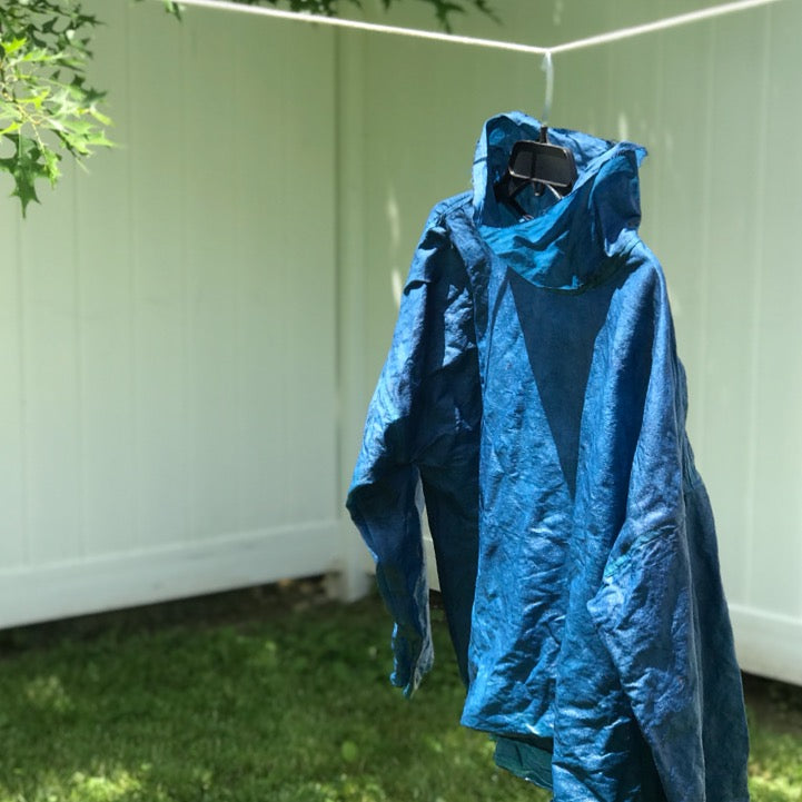 Indigo Top Drying