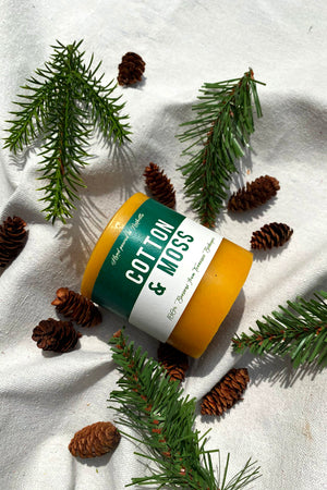 Holiday Fraser Fir Pillar Candle | Hand Poured