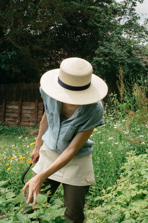 Garden Apron and Sunhat
