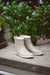 Grey Natural Rubber Rain Boots