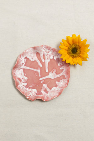 Coral Decorative Plate