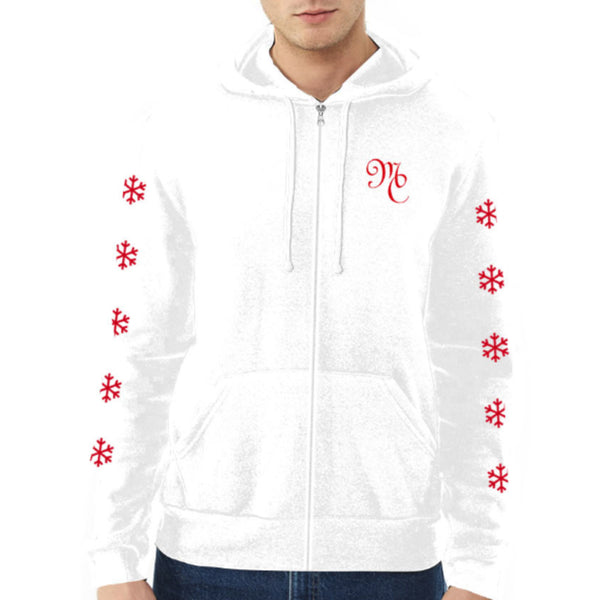 All I Want for Christmas Zip Hoodie