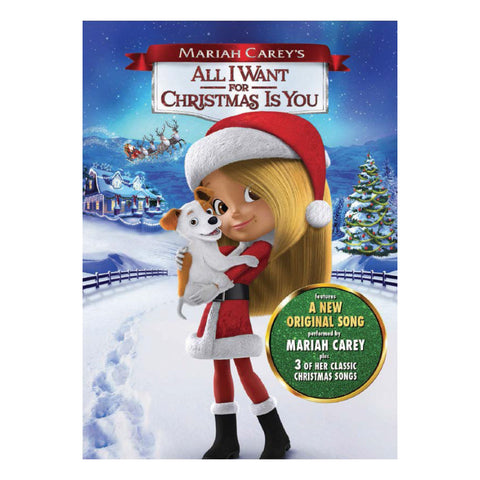 All I Want for Christmas is You DVD