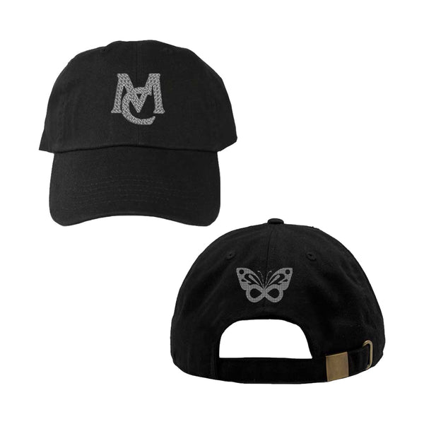 MC Infinity Butterfly Rhinestone Dad Hat