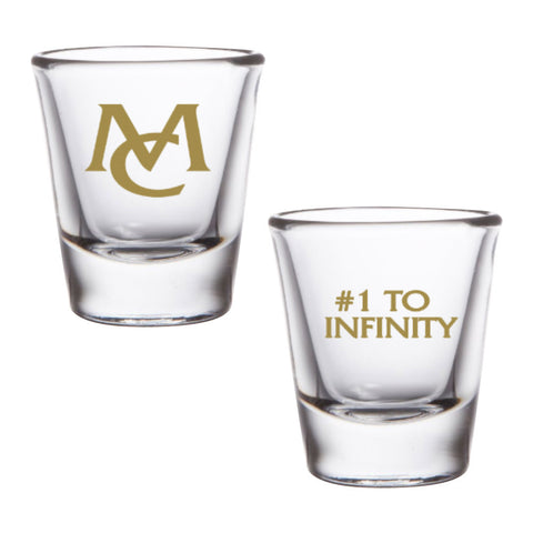 #1 to Infinity Shot Glass