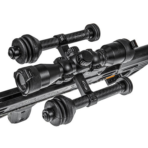 KTECH EQUALIZER CROSSBOW STABILIZER BLACK DOUBLE ARM