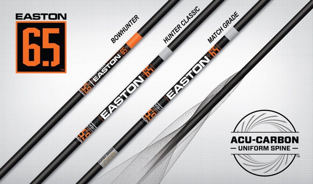 EASTON 6.5 MATCH GRADE SHAFTS 400 6 Pk.
