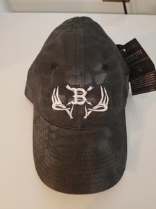 Boston Bowhunter Hat Black Kryptek
