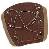 "Neet Archery Products 6 1/4"" Deluxe Traditional Armguard Brown - 53463"