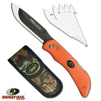 Outdoor Edge Razor-Blaze Knife Orange 6 Blades