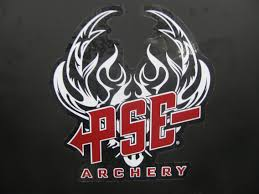 PSE  ARCHERY LOGO STICKER