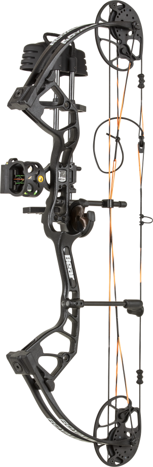2020 BEAR ROYALE COMPOUND BOW  RTH PACKAGE BLACK LH