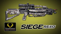 2021 TENPOINT SIEGE RS410 CROSSBOW PACKAGE ACUSLIDE VEIL ALPINE