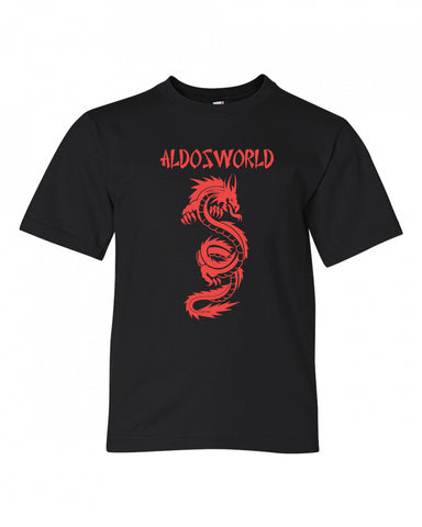 AldosWorld Dragon King Youth Tee