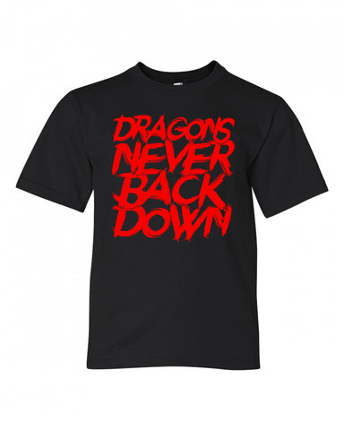 Never Back Down Youth Tee