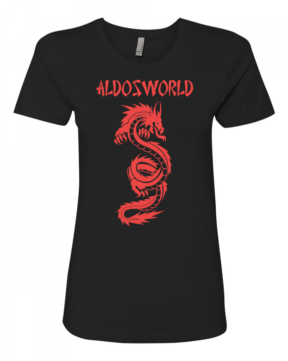 AldosWorld Dragon King Girls Tee