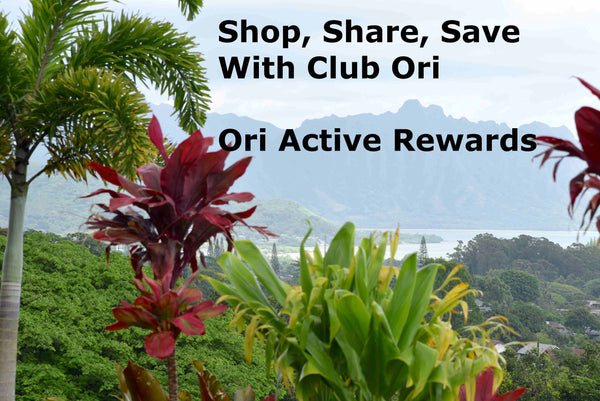 Ori Active Rewards Program
