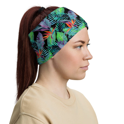 Bird of Paradise Neck Gaiter / Face Mask