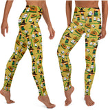 Halloween Hawaii leggings