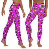Happy Hula ween leggings