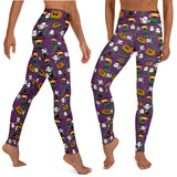 Hulaween yoga pants