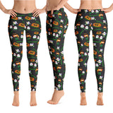 Halloween yoga leggings