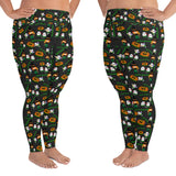 Happy Hulaween Plus size leggings