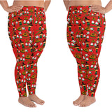 Plus size halloween leggings