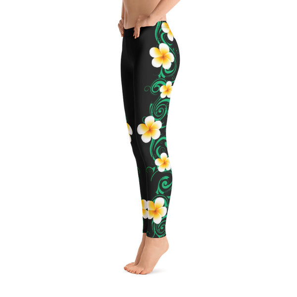 tropical Hawaiian leggings
